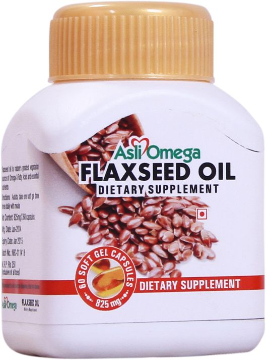 Asli omega flax seed oil soft gel capsules 825 mg for Can fish oil cause constipation